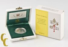 1996 Vatican Ville 500 Lire, John Paul II, 50th Anniversaire Ordinatio