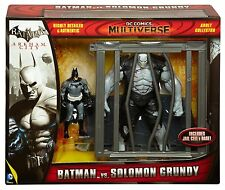 Dc Comics Multiverse Batman Arkham City Batman Vs Solomon Grundy Figura Set