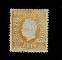 Portugal SC# 35, Mint Hinged, Hinge Rem, pencil marking on back, p. 12.5 -S10049