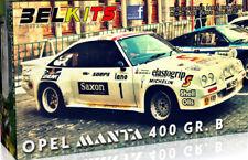 Opel Manta 400 Gr.b 24ore Van Ypres 1984 Jimmy McRae 1:24 Plastic Model Kit 009