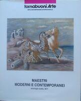 Maestri moderni e contemporanei: antologia scelta 2011.