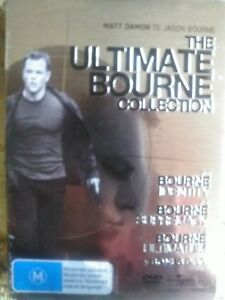 The Ultimate Bourne Collection 4 disc set DVD