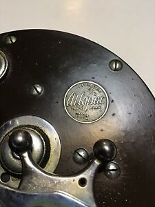 Vintage Pflueger Atlapac 6/0 Conventional Fishing  Reel Lot A36