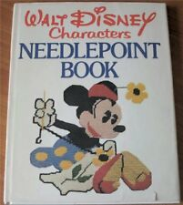 Walt Disney characters needlepoint book: Embroider