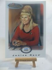 the women of Star Trek In Motion archive collection AC16 Janice Rand 263/999