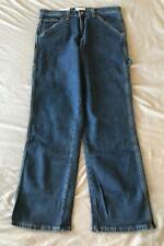 Saddlebred Men's Carpenter Stretch Jeans SH3 Dark Stone Size 34x32 NWT