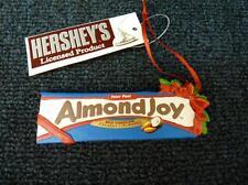 KSA ADLER Hershey's Almond Joy Bar Chocolate Christmas Ornament NEW (o2508)