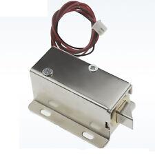 12V Cabinet Door Electric Lock Assembly Latch Solenoid for Drawer locker lock