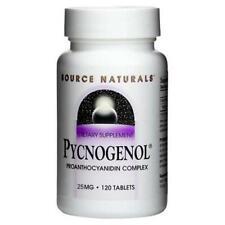 Source Naturals - Pycnogenol 25 MG - 60 Comprimés
