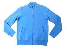 BEN SHERMAN MENS RIVIERA BLUE FULL ZIP JERSEY BOMBER JACKET SWEATER XS NWT $149