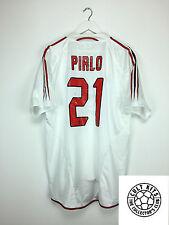 AC Milan PIRLO #21 05/06 Away Football Shirt (L) Soccer Jersey Serie A