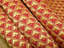 Tessuti e stoffe rosso Damasco per hobby creativi
