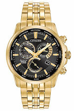 New Citizen Eco-Drive Calibre 8700 Perpetual Calendar Mens Watch BL8142-50E