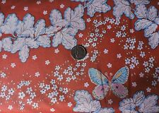100% Cotton Fabric - FreeSpirit - Butterfly Gardens - By The Yard (a)