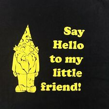 RARE You Me&Dupree Movie Say Hello To My Little Friend Promo Mens T-Shirt Large