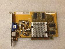 Scheda video Asus V8170/128 Rev:1.01 NVIDIA GeForce4 MX 440 128mb AGP VGA S-Vide