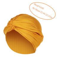 Women's Muslim Cap Elastic Turban Hat Chemo Cap Hijab Head Scarf Head Wrap Cover