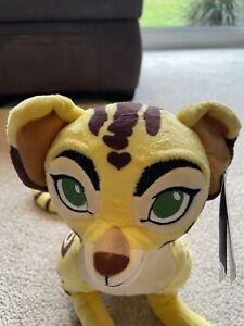 The Lion Guard Fuli The Cheetah Soft Plush Teddy Toy Disney Lion King