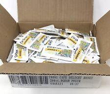 CAFE DELIGHT Honey Single Serve Pouch, 9g Packets, Case Of 200 (K6)