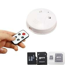 8G HD Spy Smoke Detector Motion Detection DVR Nanny Camera  Digital Video Record