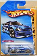 HOT WHEELS 2010 NEW MODELS DODGE CHARGER DRIFT CAR #43/44 BLUE
