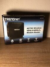 TRENDnet TEW-816DRM AC750 Wireless VDSL2/ADSL2+ Modem Router  v1.0.1 #3A005