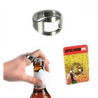 Beer Bottle Opener Ring Thumb Finger Bar Pub Accessory Alcohol Adult Gift