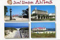 Alte Postkarte - Insel Usedom - Ahlbeck