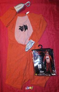 Five Nights at Freddy's Foxy COSTUME TEEN SZ Tween 34-36 JACKET NEW ! NO MASK !!
