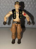 Hasbro GI JOE Steam Roller Mobile Command Driver v1 1987 ARAH Very Nice Vtg