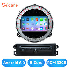 Android 6.0 Car Touchscreen Stereo DVD GPS Navigation Radio for BMW Mini Cooper