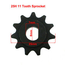 11 Tooth 25H Chain Sprocket Pinion Gear For Electric Scooter Motor MY1020
