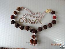 Siddha 1 To 14 Mukhi Gurbh Gouri GouriShankar Ganesh Rudraksha JAVA Bead Mala.
