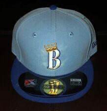 BURLINGTON ROYALS NEW ERA FITTED HAT MILB CAP SIZE 7 1/2 NWT BASEBALL