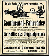 Continental Fahrräder--Fahrrad Fabrik-Hermann Prenzlau -- Werbung von 1904--