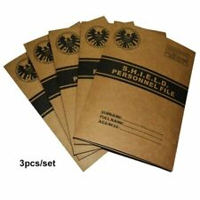 Agents of shield a4 document kraft File Folder shool archive paper