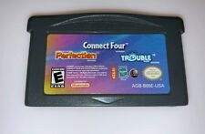 Connect Four/Perfection/Trouble (Nintendo Game Boy Advance, 2005) 3 Games in 1 !