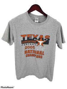 Texas Longhorns Football 2005 National Champions T-Shirt UT Mens Small
