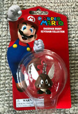 SUPER MARIO BACKPACK BUDDY COLLECTION PARAGOOMBA 2 INCH KEYCHAIN NEW ON CARD