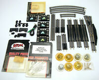 Lot Of Vintage N Scale Model Railroad Track And Accessory Parts