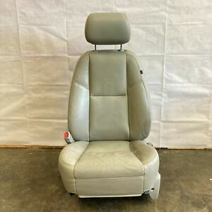 2007-2014 CHEVROLET TAHOE CADILLAC FRONT LEFT DRIVER SIDE SEAT LEATHER GRAY OEM