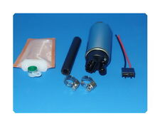 255LPH Electric Fuel Pump  w/Strainer & Installation kits Fits: Nissan Subaru &