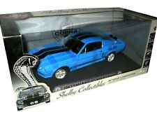Shelby Collectibles 1967 GT500E Eleanor Grabber Blue Signed 1:18 Scale Die Cast