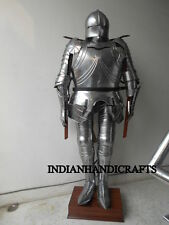 Medieval Knight GOTHIC Suit of Armour Combat Full Body With Stand Medieval