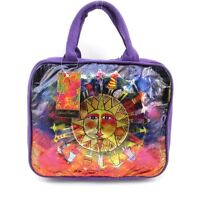 LAUREL BURCH Foiled Cosmetic Makeup Travel Tote Kit ~ Harmony Under the Sun