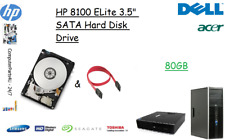 """80GB HP 8100 Elite 3.5"""" SATA Hard Disk Drive (HDD) Replacement / Upgrade"""