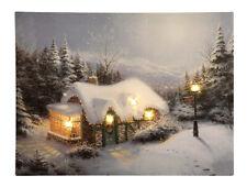 Led Bilder Weihnachten.Leuchtende Deko Bilder Drucke Fur Den Wintergarten