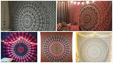 Twin Mandala Tapestry Wall Hanging Throw bedding Cotton Bedspread Wholesale Lot