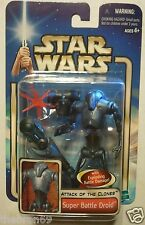 "Star Wars: Super Battle Droid '02/#06 3.75"" Action Figure Attack of the Clones"