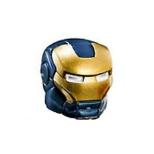 LEGO - Minifig, Headgear Blue Helmet w/ Gold Face Shield (Iron Legion)